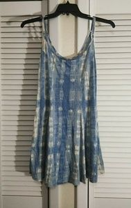 Billabong Blue And White Dress